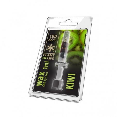 Wax CBD Syringe 66% Kiwi