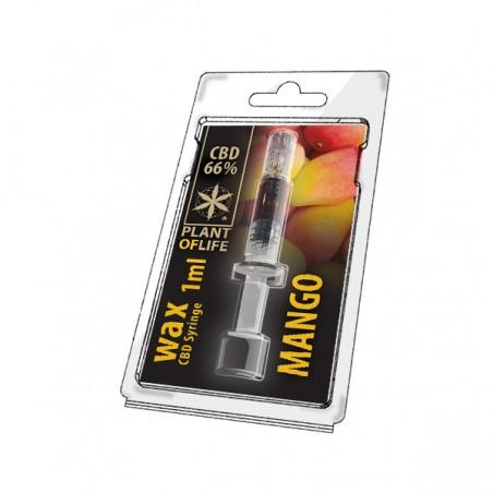 Wax CBD Syringe Mango 66%...