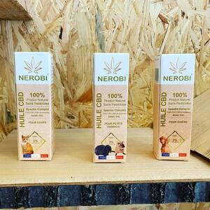 🇫🇷 #HuiledeCBD #Nerobi pour #animaux disponible des aujourd'hui chez #PurpleStore !