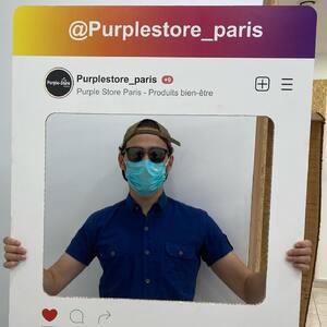 #PurpleStore #best #CBDshop on #Paris  ✅ Encore un client qui a validé la #Purplerie