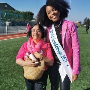 Purple Store et les cosmétiques Nerobi soutiennent Octobre Rose et Nanteuil en rose avec Prescilla Larose, candidate Miss World !