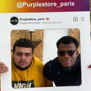 Grand merci à @cassidywassa de @wassa_product et son équipe et à @kylian_prod !  #PurpleStore #Nerobi #CBD #CBDBastille #CBDFrance #CBDParis #PurpleGram