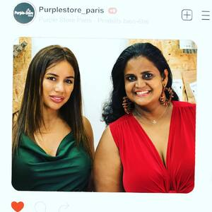 #SarahMartins et #Rachelle en mode #instapic chez #PurpleStore !  #CBD #CBDFrance #CBDParis #CBDShop #CBDStore