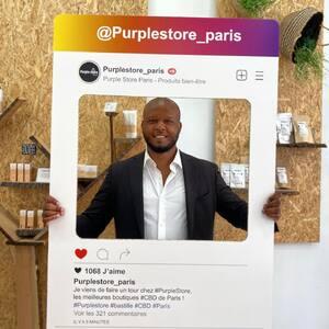 ▶️ Restez informés des actualités #PurpleStore sur #Paris en vous abonnant au compte @purplestore_paris !  #CBDParis #CBDShop #CBDStore